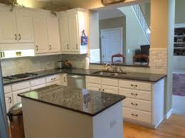 blue pearl countertops traditional kitchen