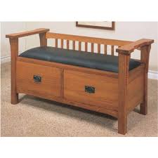 image of storage bench seat casual