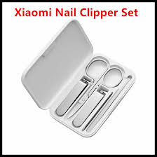 Xiaomi <b>Mijia</b> Stainless Steel <b>Nail</b> Clippers Set (2019 Version Optional)