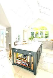 kitchen island open shelves islands neat ergonomic shelf shelving ideas combination with black tr kitchen island open shelves