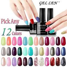 Gellen Pick Any 6 Colors Gel Nail Polish Color Changing