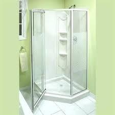 corner shower stall kits. Lowes Shower Stalls Kit Corner Kits Shop Solution Angle Stall N