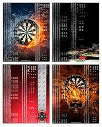 Out Chart Darts Darts Shirts And Darts Designs Regulation Dartboard Setup