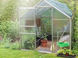Gewächshaus Aufbauen Gärtnern Im Glashaus
