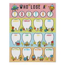Tally Chart Classroom Tooth Tally Chart Poster In Robots Theme