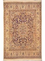 persian rug nain hand knotted 6 8 x 6 5 zar02781