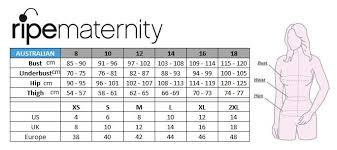 Jessica Clothing Size Chart