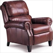 Hogan High Leg Leather Recliner 2671