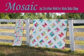 Mosaic Quilt + Bonus Table Runner Â« Moda Bake Shop & cover2 Adamdwight.com