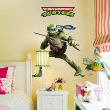 Ninja Turtle Bedroom Decor Similiar Tmnt Wall Murals Keywords