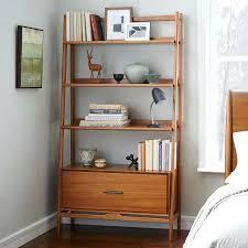 mid century modern wall shelves diy bookshelf tall wide west elm shelving home decorating ideas