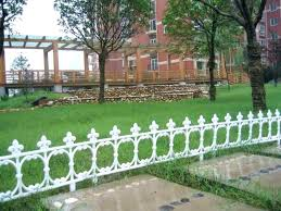 Decorative Wire Garden Fence Decorative Garden Fencing White Metal