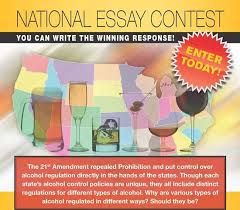 the center for alcohol policy essay contest