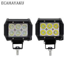 <b>ECAHAYAKU 1Pcs</b> Led <b>Car</b> Light <b>18W</b> Led Light Bar Spot Flood
