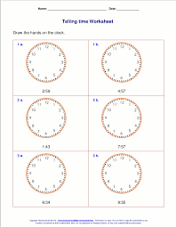Telling time worksheets for 3rd grade | school work | Pinterest ...