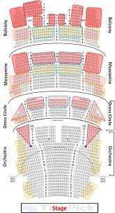 Dr Phillips Center Hamilton Seating Chart Cibc Theater Seating Chart Seat Views Auditorium Seating