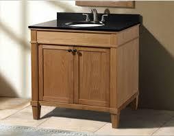 36 bathroom vanity. 36 Inch Weathered Oak Bathroom Vanity With Black Granite Top