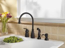 White Kitchen Sink Faucets Interior Black Kitchen Faucets With Sprayer On Modern White
