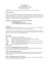 Cover Letter Certified Welder Resume Certified Welder Resume