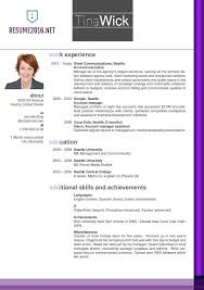 Most Recent Resume Nice Updated Resume Format Free Career Resume