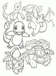 Pokemons Kleurplaten Charmander Olivinum Pokemon Charizard