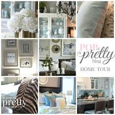 73 best my home tour a pop of pretty blog images