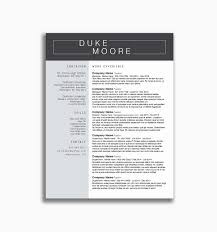 Hr Resume Examples Unique Powerful Resume Templates 21 Professional ...