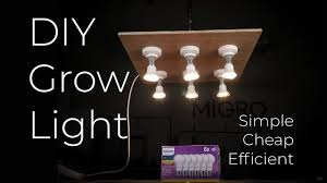 DIY <b>LED Grow</b> light build | Build your own cheap simple and efficient ...
