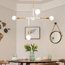nordic res modern design led chandelier lighting living room kitchen foyer lamp white iron decor home light fixtures e27 birdcage chandelier michigan