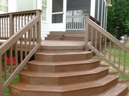 Incredible Home Exterior Design Ideas Using Deck With Stairs : Cool Ideas  For Front Porch Decoration ...