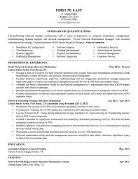 Sample Resume Military To Civilian Sample Resume For A Militarytocivilian Transition Best 60 Sample 7