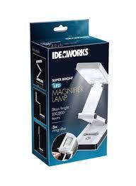 Ideaworks Round Solar Lights Shop Jobar Super Bright Led Magnifier Lamp White Online In Dubai Abu Dhabi And All Uae