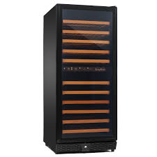 amazoncom kingsbottle  bottle dual zone wine cooler black