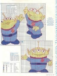 Toy Story Aliens 2 Of 2 Disney Cross Stitch Patterns