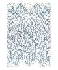 blue wavy chevron indoor outdoor rug yellow