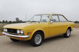 1970 Fiat 124 Sport Coupe, Now this was a great car. Shame I blew ...