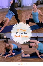 10 easy yoga poses to help relieve stress