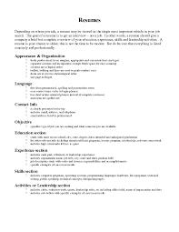 resume wording examples. 30 Luxury Resume Wording Examples