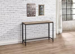 iron console table. Birlea Urban Industrial Chic Console Hall Table Wood Black Metal Hallway Iron A