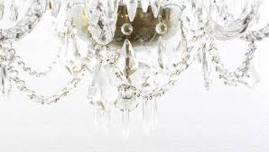 superb vintage venetian eight light crystal chandelier in excellent condition for in london