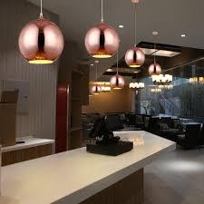 Holigoo Nordic Globus Lichter Küche Fixtures Silber Gold