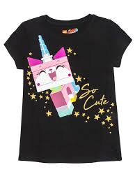 lego so cute uni kitty glitter graphic t shirt little s big s walmart