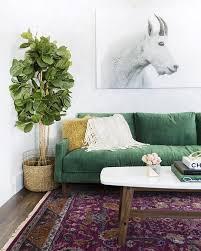 emerald green furniture. (Image Credit: My Domaine) Emerald Green Furniture