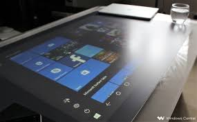 Micrsoft Table Windows 10 On The Surface Coffee Table Works Surprisingly Well