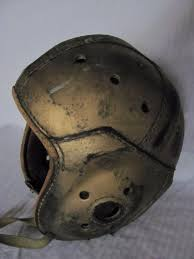 vintage leather football helmet rawlings model a 25 size 7 1 8 1749566628