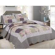 Quilts & Bedspreads - Walmart.com & All for You 3pc Reversible Quilt Set, Bedspread, and Coverlet with Flower  Prints- Adamdwight.com