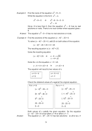 collection of math worksheets go solving quadratic equations by factoring answers them and try to solve