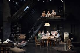 Diary Of Anne Frank Set Design Olneys Anne Frank Is Life Affirming Thanks To Carolyn