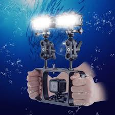 Bower Vl12k Professional Led Light Click To Buy Gopro Accessories Underwater Dual Handheld