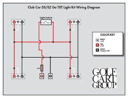 club car light wiring diagram on 36v electric golf cart wiring how to wire lights on a 48 volt golf cart at Club Car Light Wiring Diagram